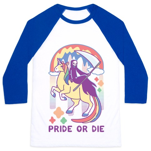 Pride or Die Baseball Tee