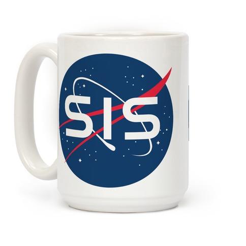 Sis Nasa Parody Coffee Mug