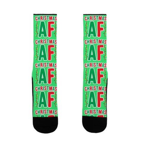 Christmas AF Sock