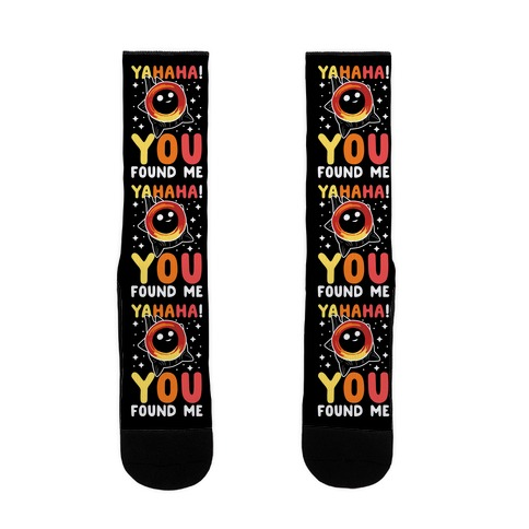 Yahaha! You Found Me! - Black Hole Sock
