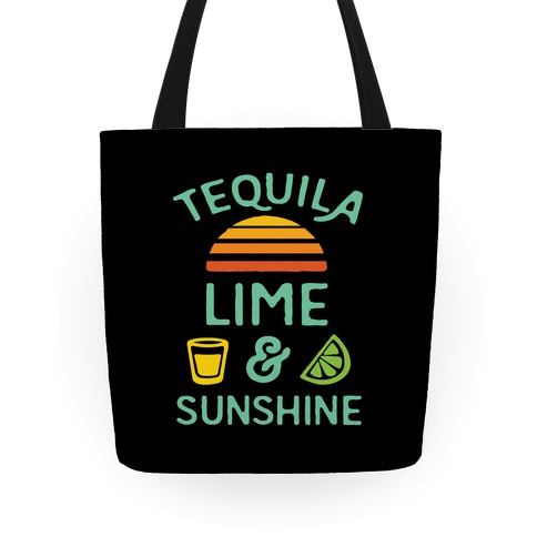 Tequila Lime And Sunshine Tote