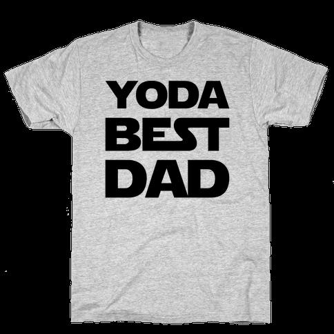 Yoda Best Dad Parody Mens T-Shirt