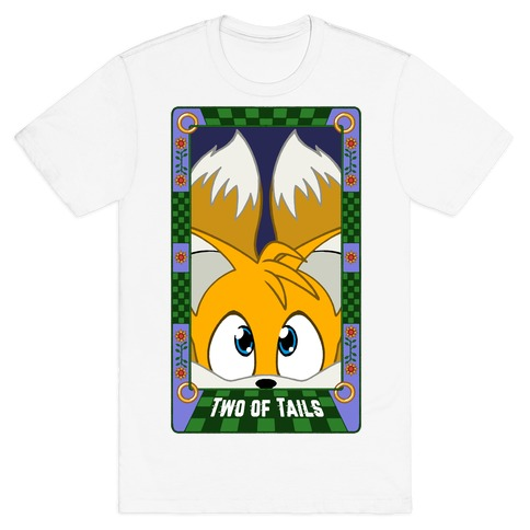 Two Of Tails Tarot Card T-Shirt