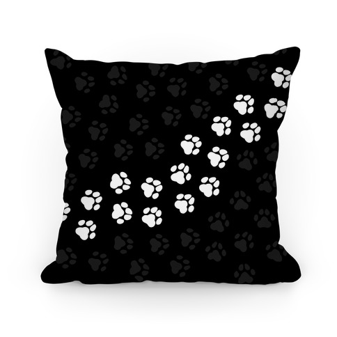 Paw Prints Pillow