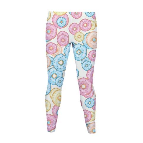 Donut Pattern Women's Legging