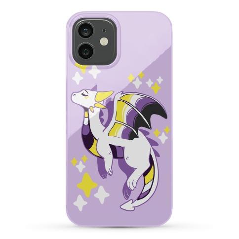 Non-Binary Pride Dragon Phone Case