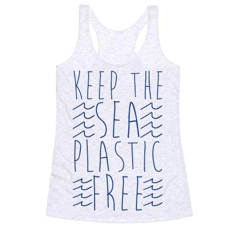 Keep the Sea Plastic-Free Racerback Tank Top