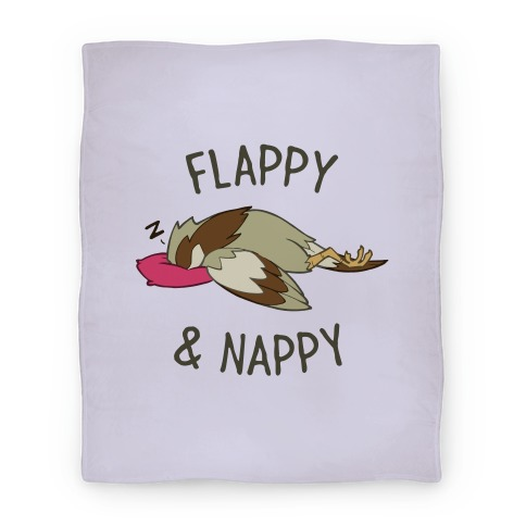 Flappy And Nappy Blanket