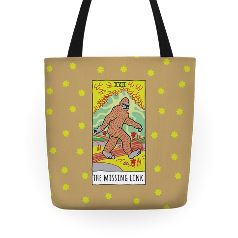 The Missing Link Bigfoot Tarot Tote