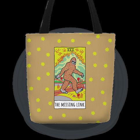 The Missing Link Bigfoot Tarot Tote