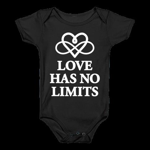 Love Has No Limits  Baby Onesy