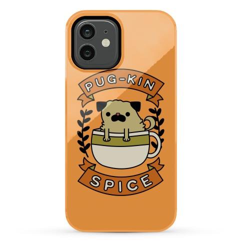 Pugkin Spice Phone Case