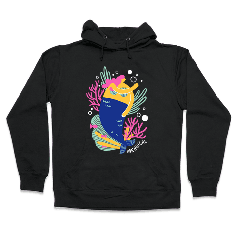 Mergical Mermaid Hooded Sweatshirt
