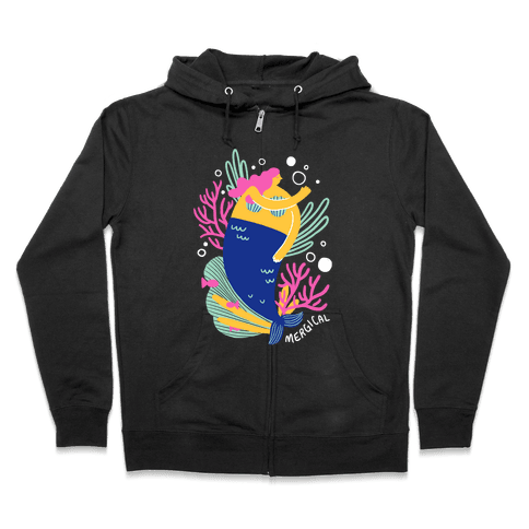 Mergical Mermaid Zip Hoodie