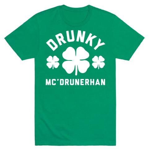 Drunky Mc'Drunkerhan Mens T-Shirt