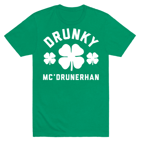 Drunky Mc'Drunkerhan Mens T-Shirt
