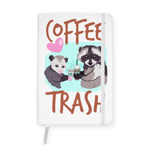 Coffee Trash Notebook