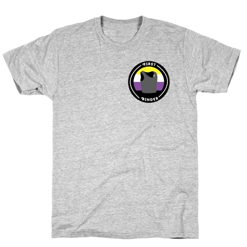 First Binder Patch (Nonbinary) T-Shirt