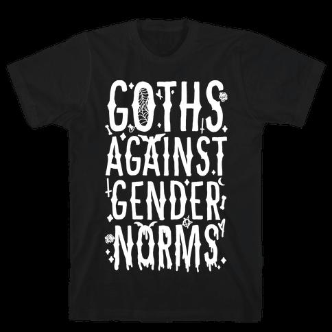Goths Against Gender Norms Mens/Unisex T-Shirt