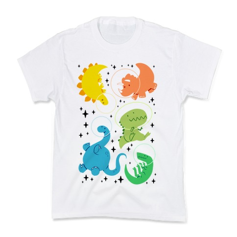 Space Dinos Kids T-Shirt