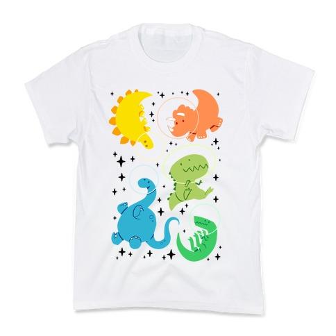 Space Dinos Kids T-Shirt