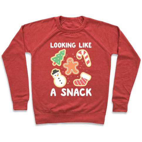 Looking Like A Snack Christmas Cookies Pullover