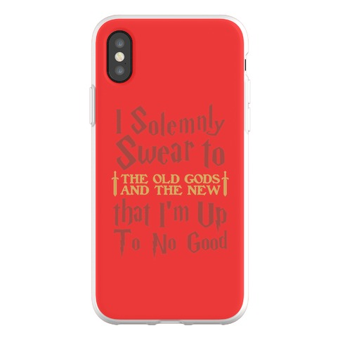 I Solemnly Swear to the Old Gods Phone Flexi-Case