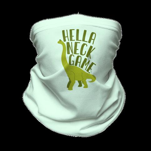 Hella Neck Game Brachiosaurus Neck Gaiter
