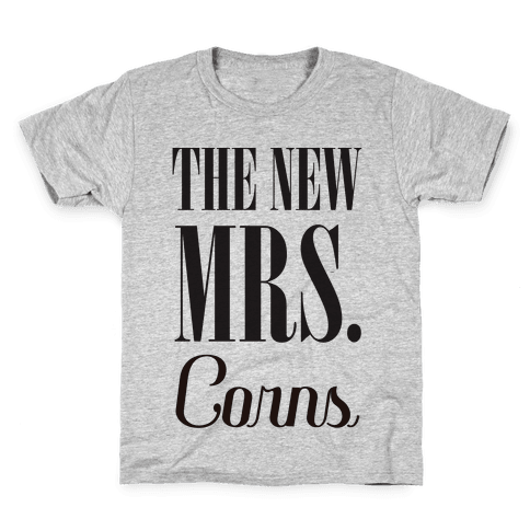 The Future Mrs Corns Kids T-Shirt
