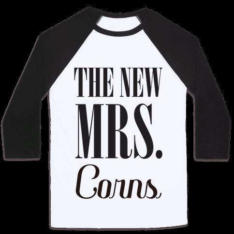 The Future Mrs Corns Baseball Tee