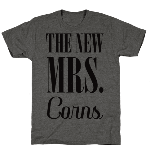 The Future Mrs Corns Mens T-Shirt