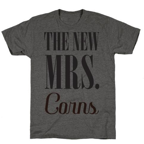 The Future Mrs Corns Mens T-Shirt
