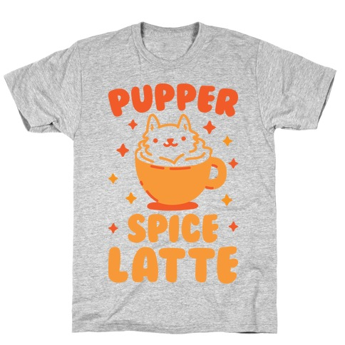 Pupper Spice Latte Mens T-Shirt