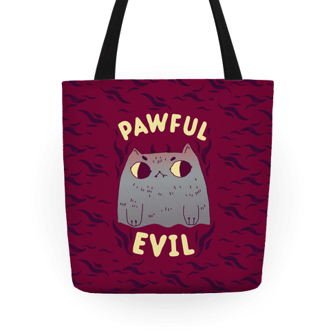 Pawful Evil Tote