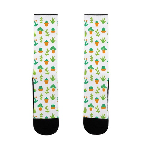 Cute Plant Pattern Sock
