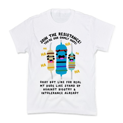 Join the Resistance  Kids T-Shirt
