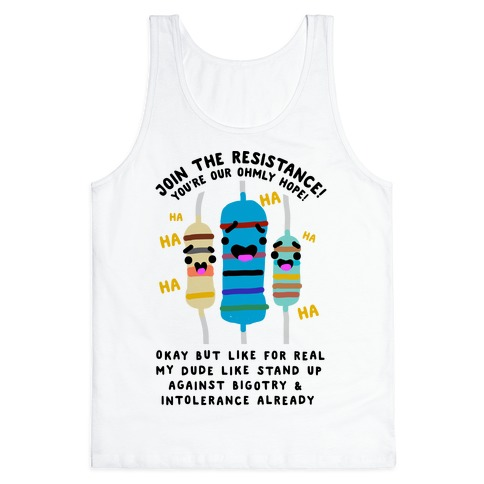 Join the Resistance Tank Top