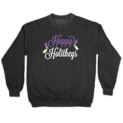 Happy Holitheys! Non-binary Holiday Pullover