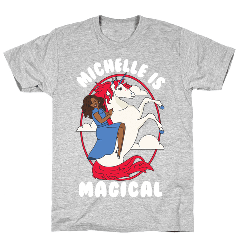 Michelle Is Magical Mens T-Shirt