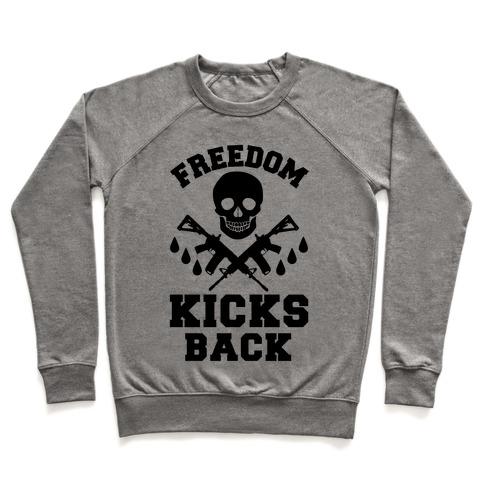 Freedom Kicks Back Pullover