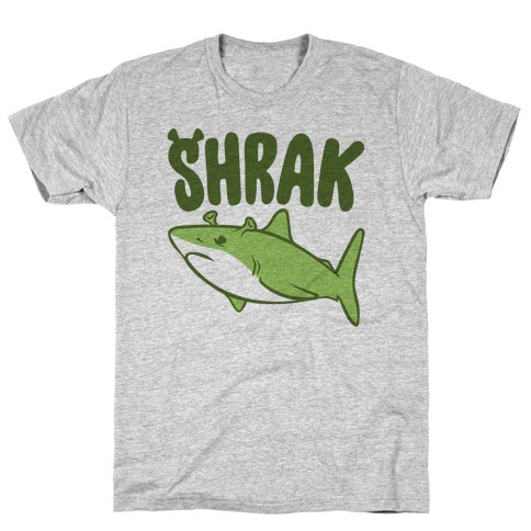 Shrak Shrek Shark Parody T-Shirt