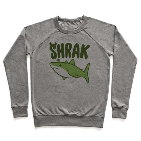 Shrak Shrek Shark Parody Pullover