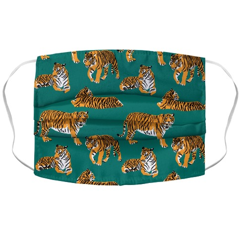 Tiger Pattern Face Mask Cover