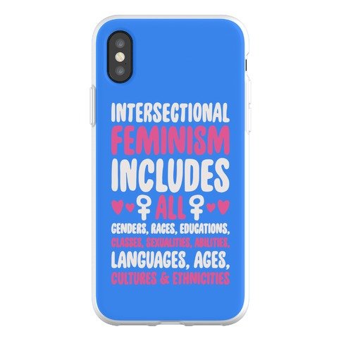 Intersectional Feminism Phone Flexi-Case