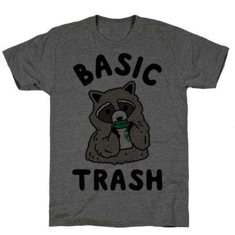 Basic Trash Coffee Raccoon T-Shirt