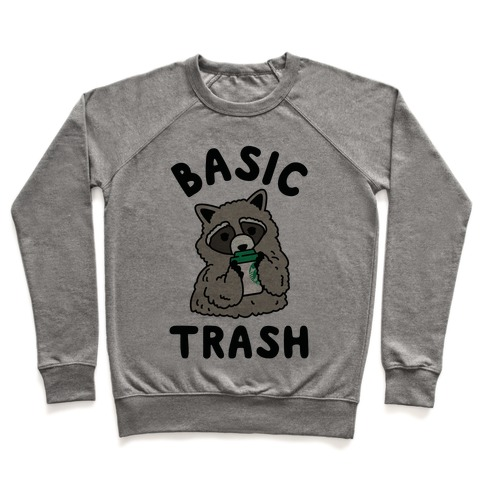 Basic Trash Coffee Raccoon Pullover