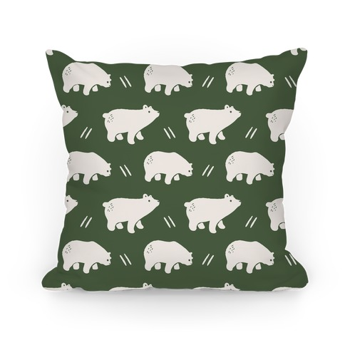 Bear Chive Boho Pattern Pillow