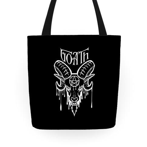 Goath (black) Tote