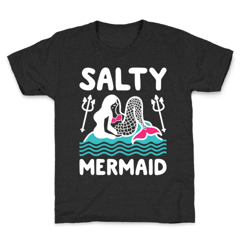 Salty Mermaid Kids T-Shirt