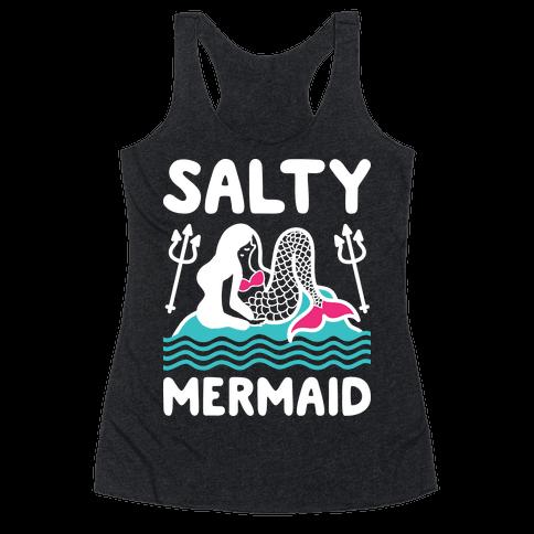 Salty Mermaid Racerback Tank Top